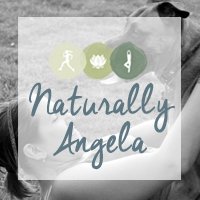 Naturally Angela Button